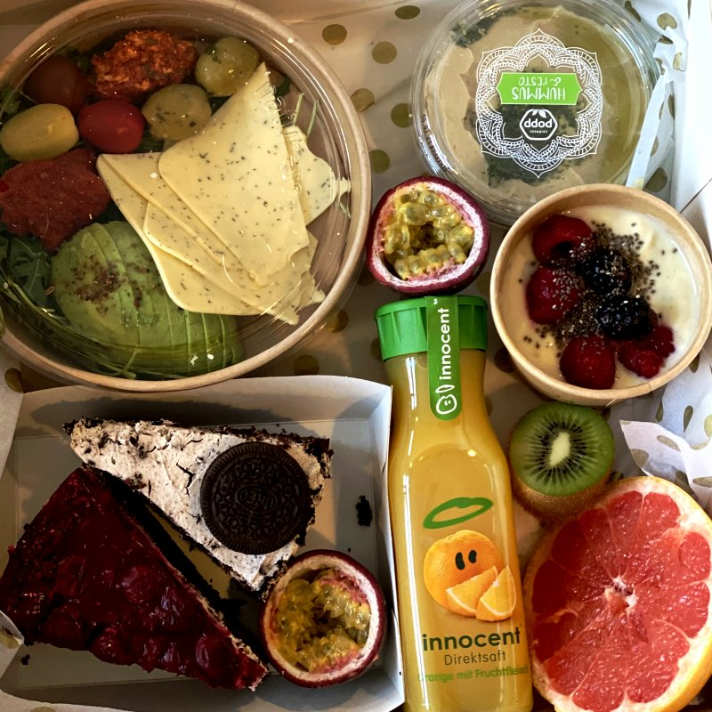Veganes Frühstück bestellen Dresden
